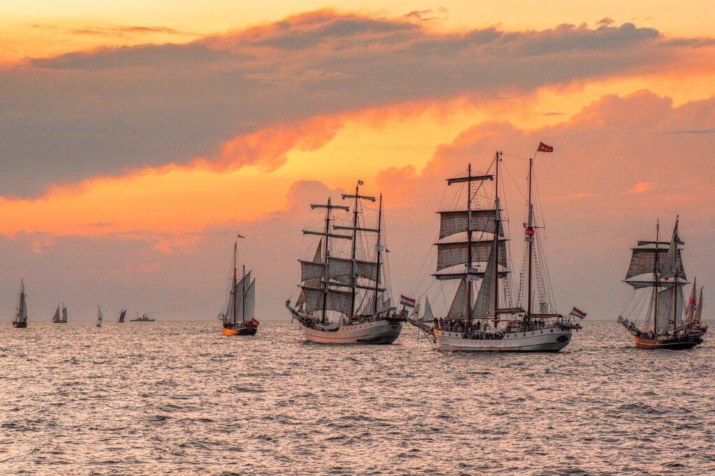 hanse sail, rostock, sail