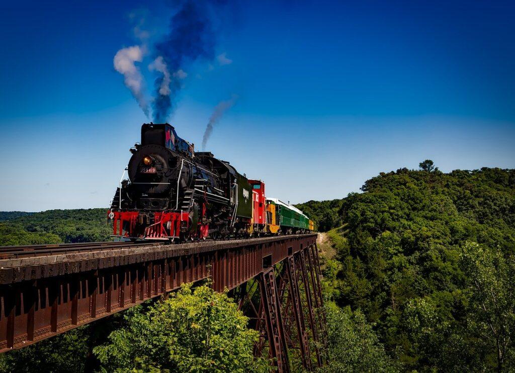 train, locomotive, travel
